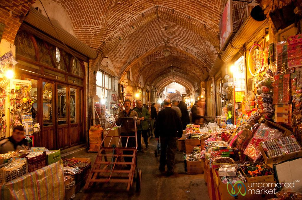 Tabriz Covered Market, Iran