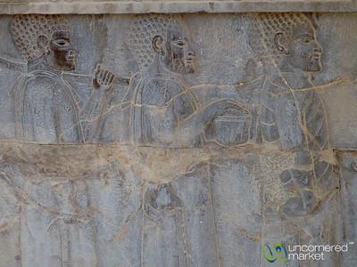 Ethiopian Solidiers at Apadana Palace - Persepolis, Iran
