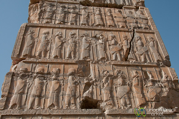Carved Gates at Persepolis, Iran