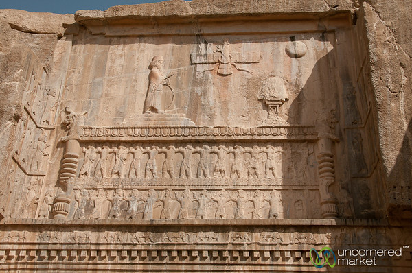 Carved Tombs at Persepolis, Iran