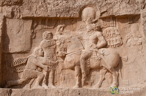 Relief Showing Surrender of Romans - Naqsh-e_Rustam, Iran