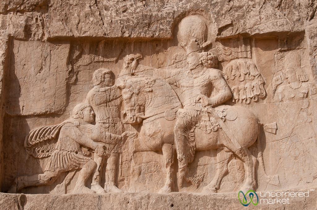 Relief Showing Surrender of Romans - Naqsh-e_Rustam, Iran