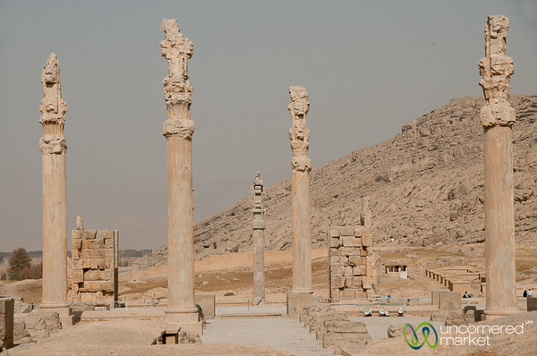 Persepolis Columns and Palace - Iran