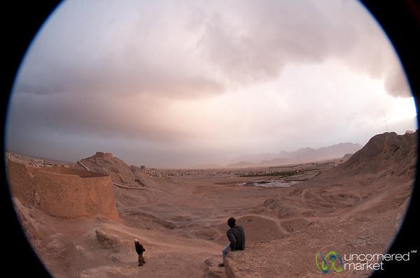 Tower of Silence (Zoroastrian Cemetery) - Yazd, Iran