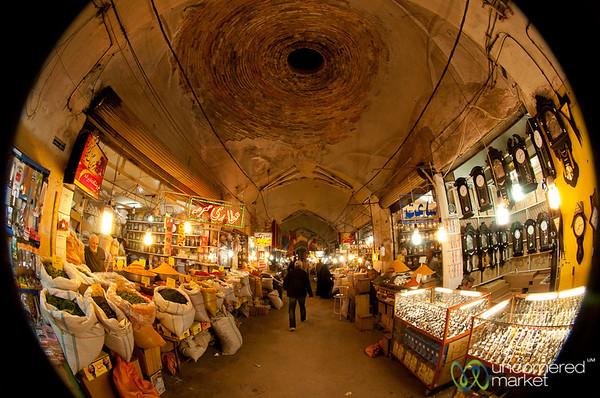 Spice Market in Esfahan, Iran