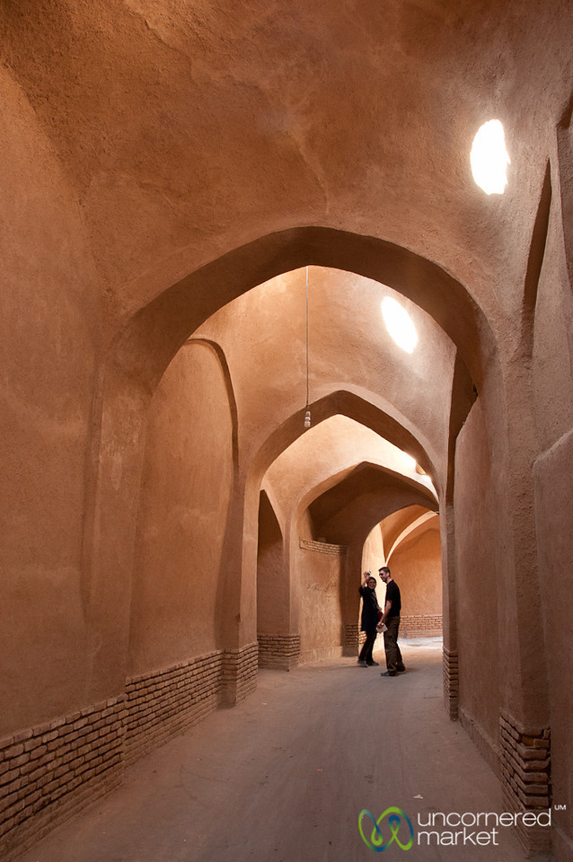 Covered Walkway of Old Yazd - Iran