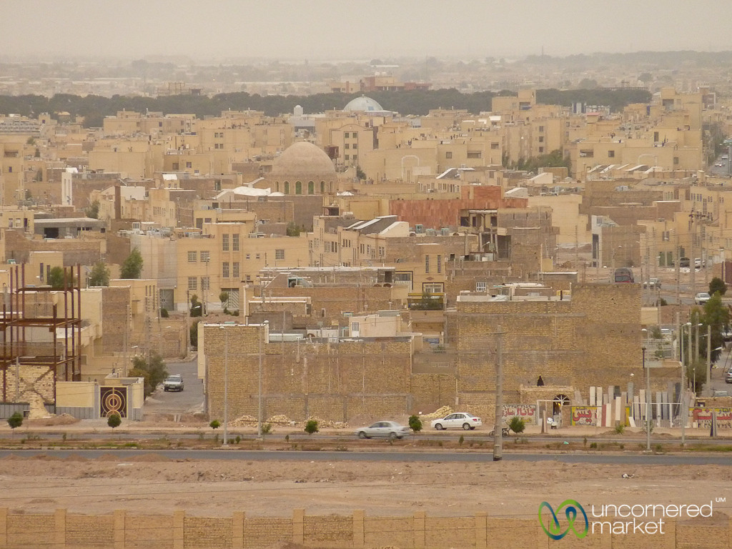 View of Yazd Cityline - Iran