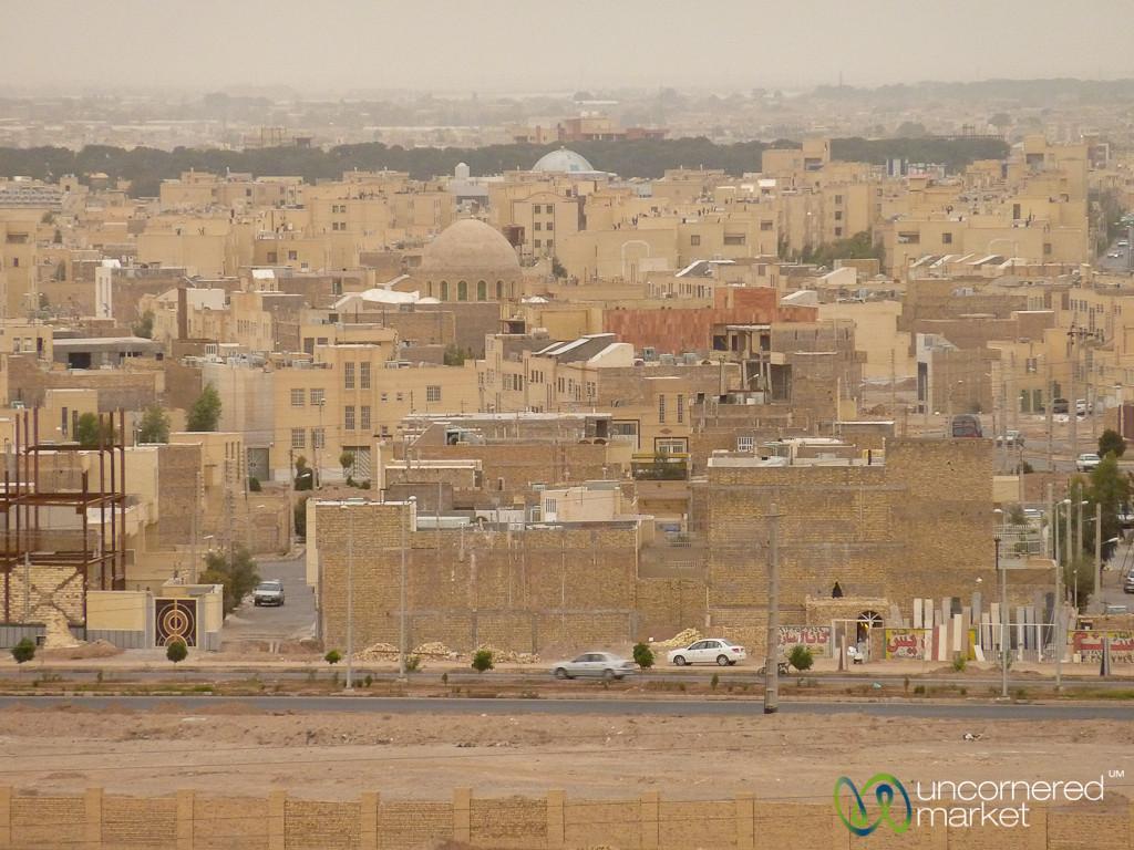 View of Yazd Cityline - Iran