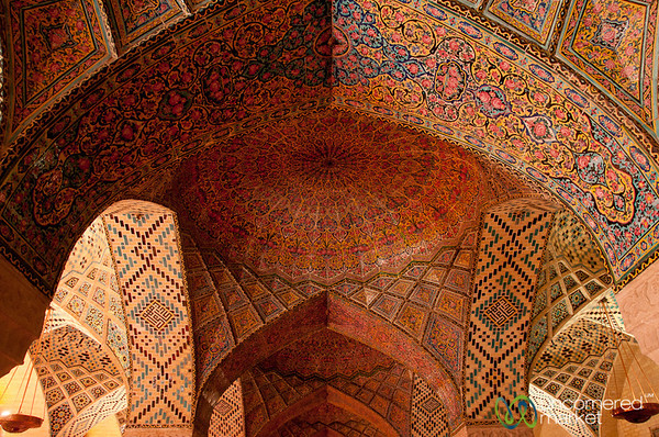 Pink Mosque in Shiraz, Iran