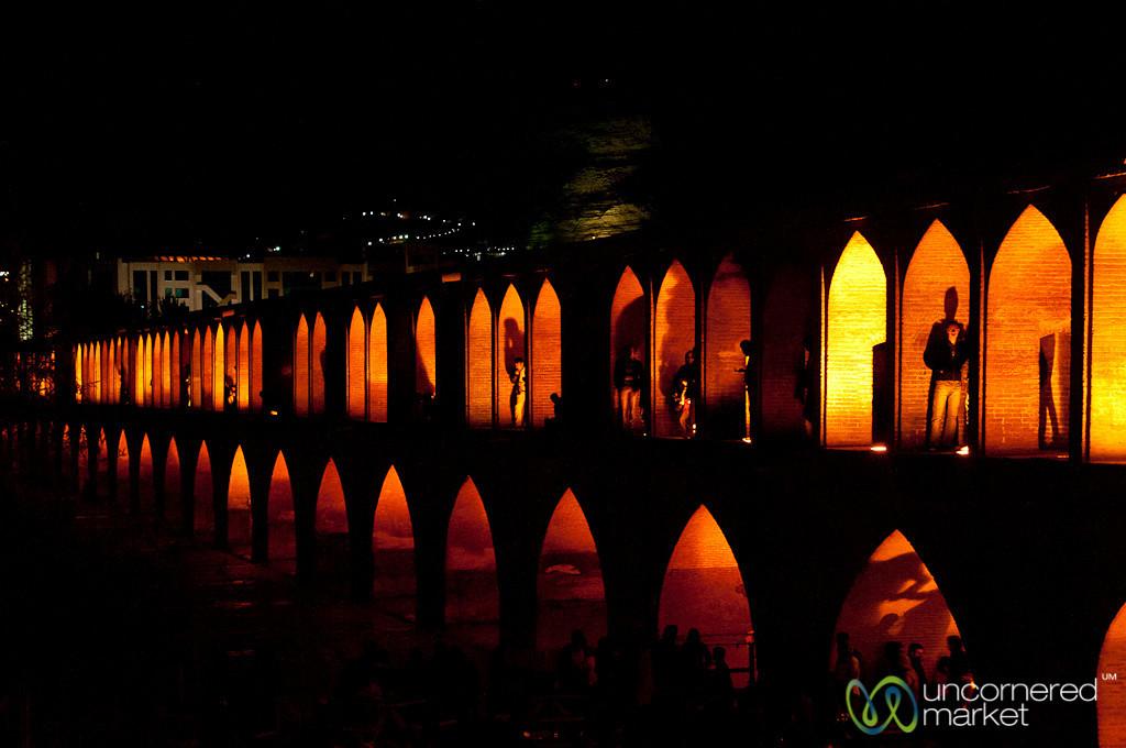 Si-o-Seh Bridge - Esfahan, Iran