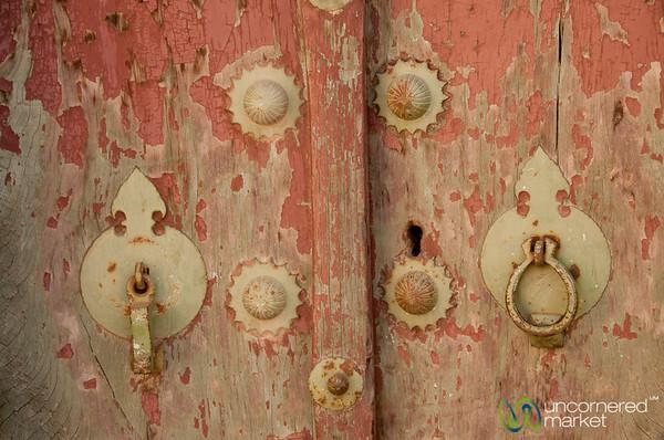 His and Her Door Knocker - Yazd, Iran