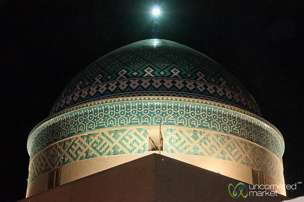 Yazd Dome at Night - Iran