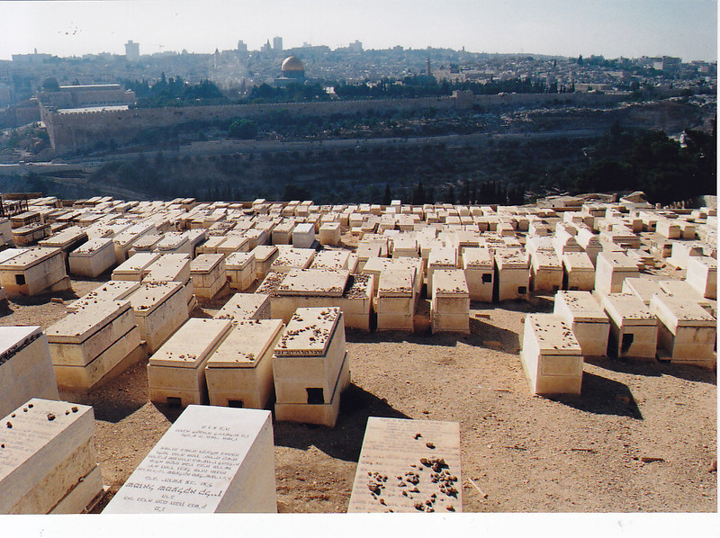 Cemetery overlooking Jerusalem