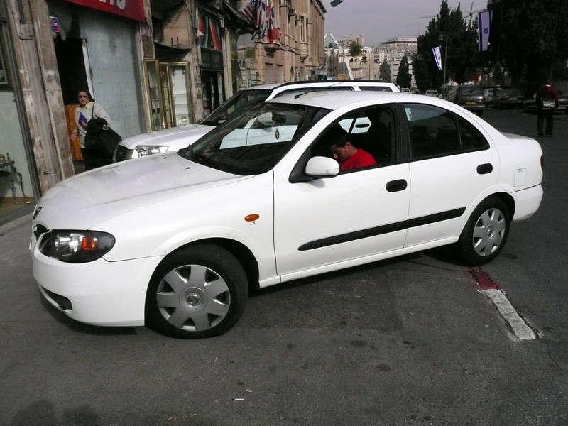 The AVIS car I picked up in Jerusalem , 2007