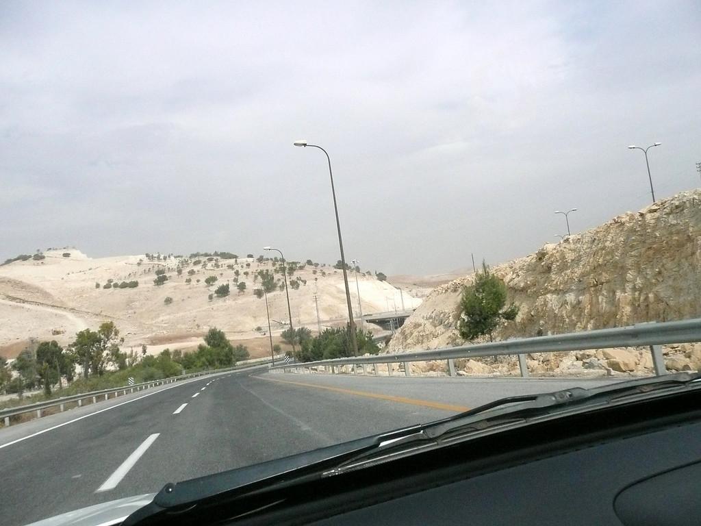 Heading to Dead Sea Scrolls Quaram National Park Israel , 2007