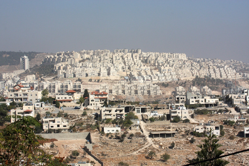 A settlement view from Jerusalem,2007
