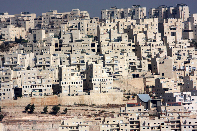 A settlement view from Jerusalem, 2007