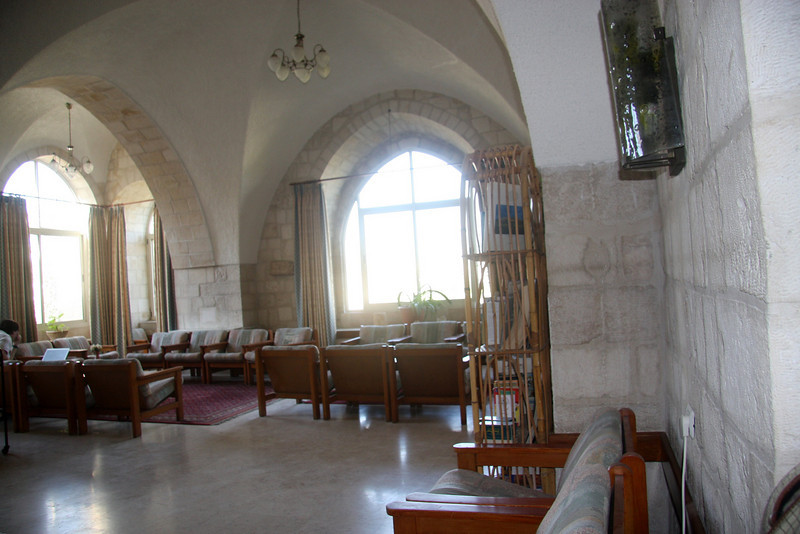lounge Jerusalem - Lutheran Guest House - Old Jerusalem (nr Jaffa Gate), 2007
