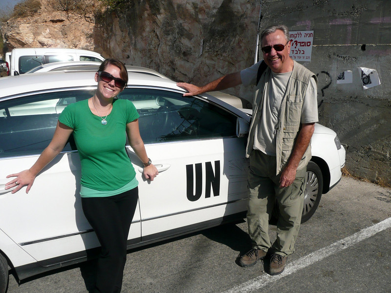 Our UN friends, Jerusalem, The Old Walled City, 2007
