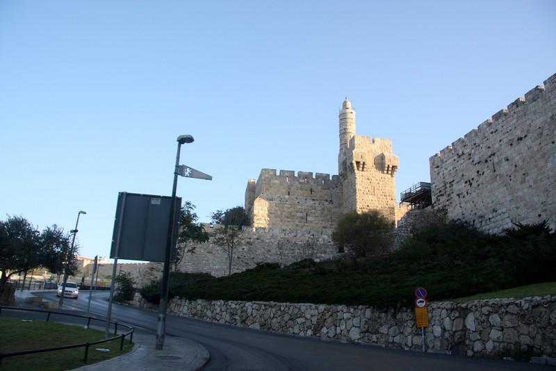 Heading up to the Jaffa Gate of Jerusalem Jerusalem, The Old Walled City, 2007