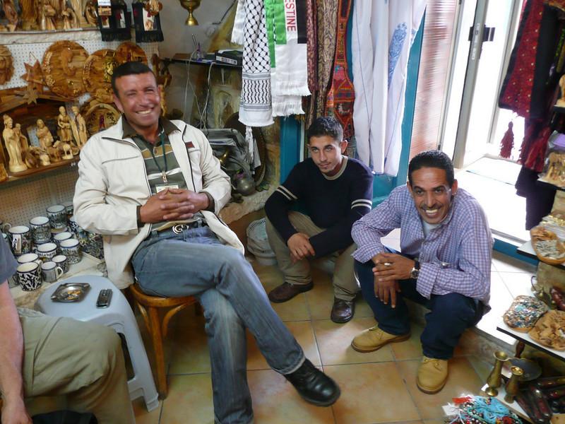 Bethlehem shop owern and friends Jerusalem - The People, 2007