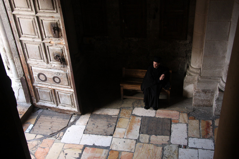 Church of the Holy Sepulcher Jerusalem - The People, 2007