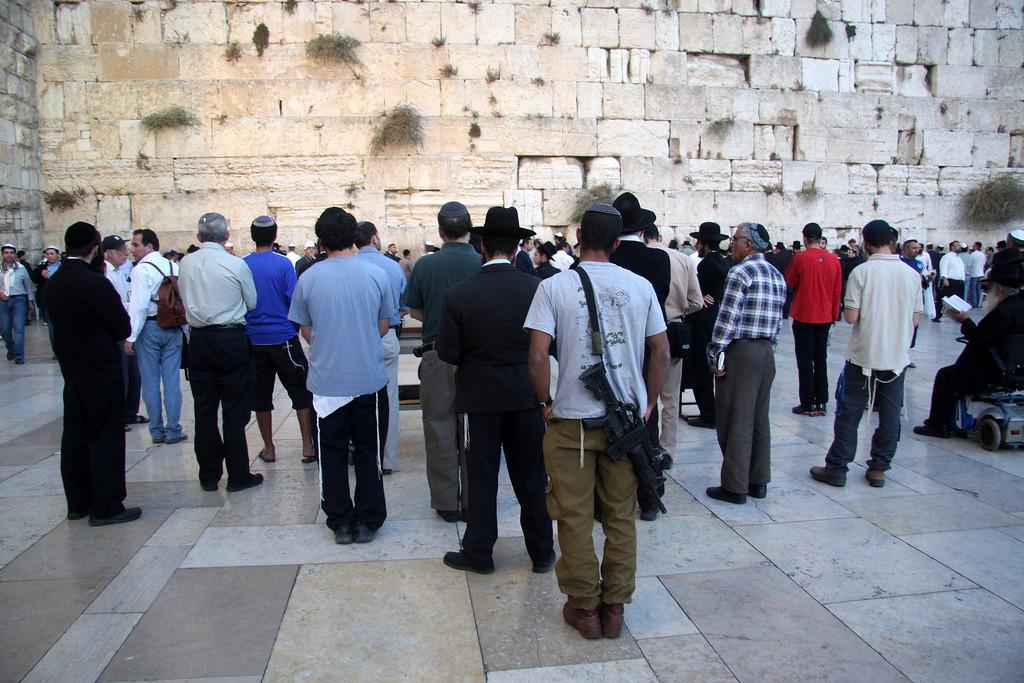 Jerusalem, The Wailing Wall, Israel 2007