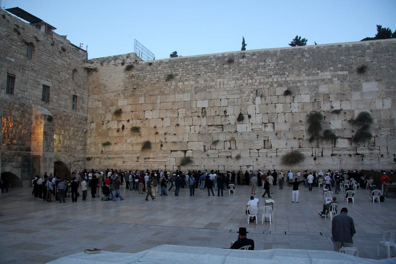 "The ""Wailing Wall,"" located in Old Jerusalem, is considered by both Jews and Muslims as a significant and holy site. For the Jews, it is one of the last remaining portions of the ancient Temple of Solomon (an outer wall, in fact). The original length is estimated to have been around 485 meters; today what remains is just 60 meters long. Jerusalem, The Wailing Wall, Israel 2007"