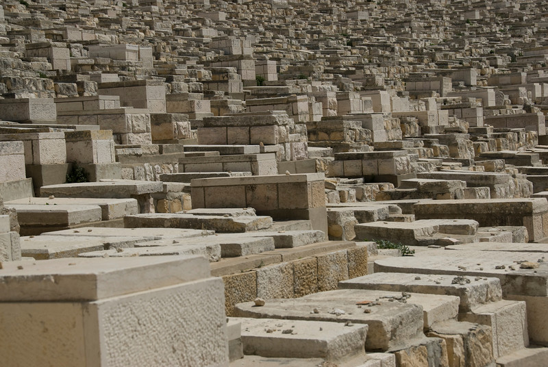 Jewish graves in Jerusalem, Israel