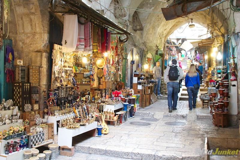 Streets of Muslim quarter