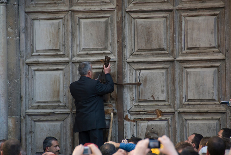Good Friday celebration in Jerusalem, Israel