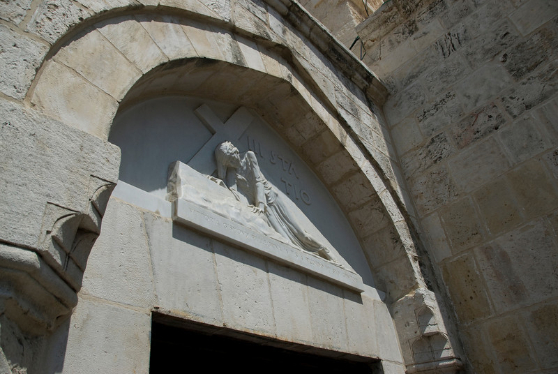 Station of the cross during Good Friday in Jerusalem