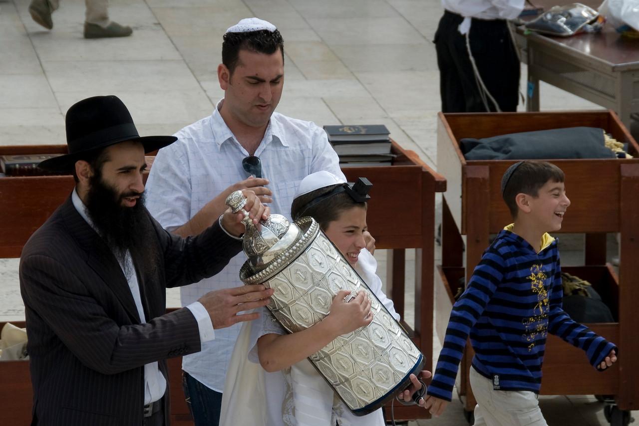 Celebration of Good Friday in Jerusalem, Israel