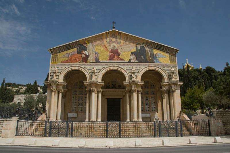 Church of All Nations in Jerusalem, Israel