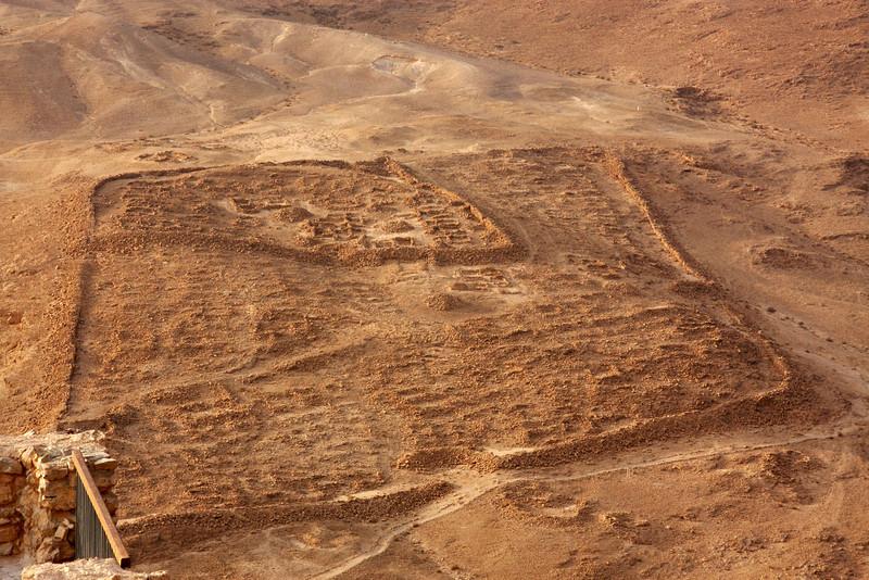 Roman camp Masada, Israel ,2007