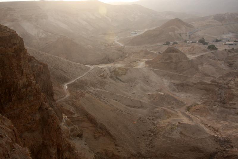 Siege ramp Masada, Israel ,2007