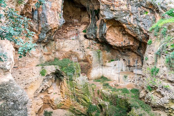Mount Carmel Caves Israel