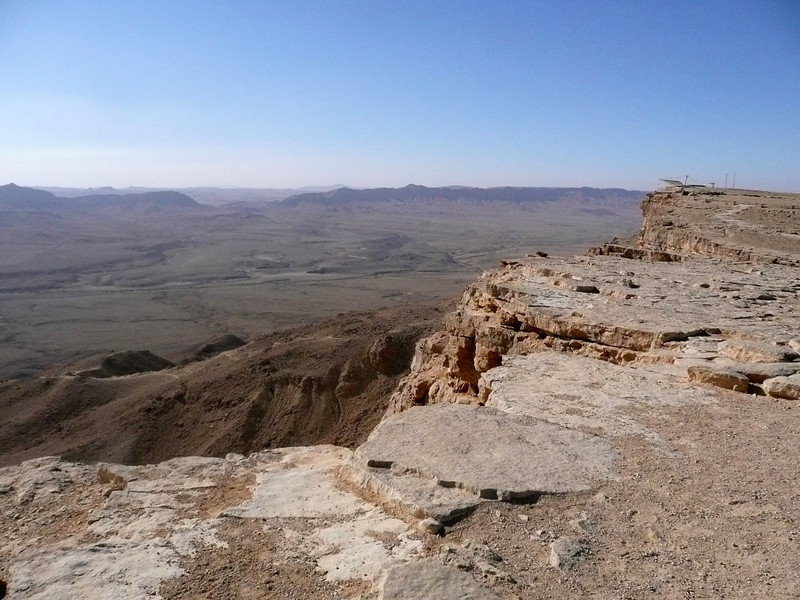 Mitzpe Ramon crater overlook ,2007