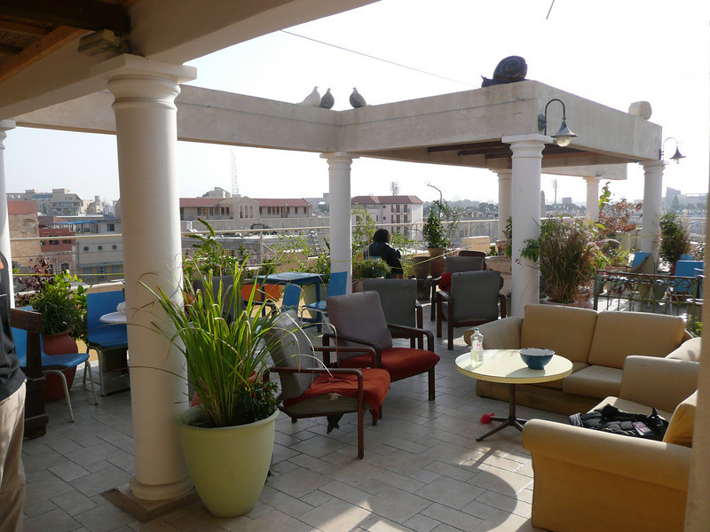 "Rooftop, our home in Jaffa, the old jaffa hostel/guesthouse, great rooftop spot, it was perfectly located as well:  <a href=""http://www.telaviv-hostel.com/rooms.html"">http://www.telaviv-hostel.com/rooms.html</a> Old Jaffa, Israel ,2007"
