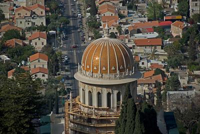 The Golden Dome in Haifa, Israel