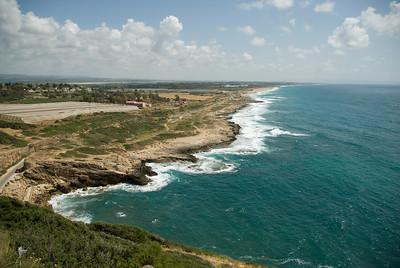 Mediterranean coast of Israel