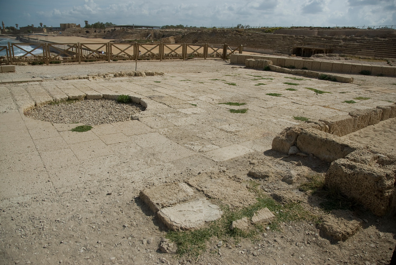 Ruins of Ceasaria Maritima in Israel