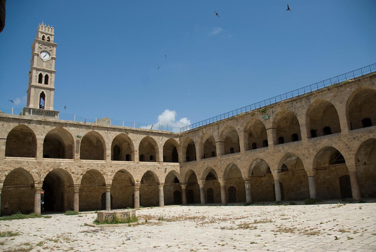 Khan al-Umdan in the old city of Acre, Israel