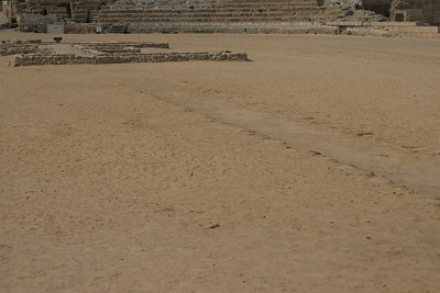Ancient Ruins of Caesaria Maritima in Israel