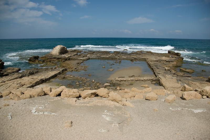 Ruins of Caesaria Maritima in Israel