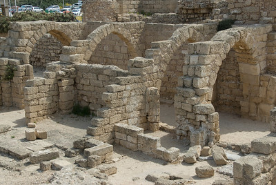Ruins of Caesarea Maritima in Israel