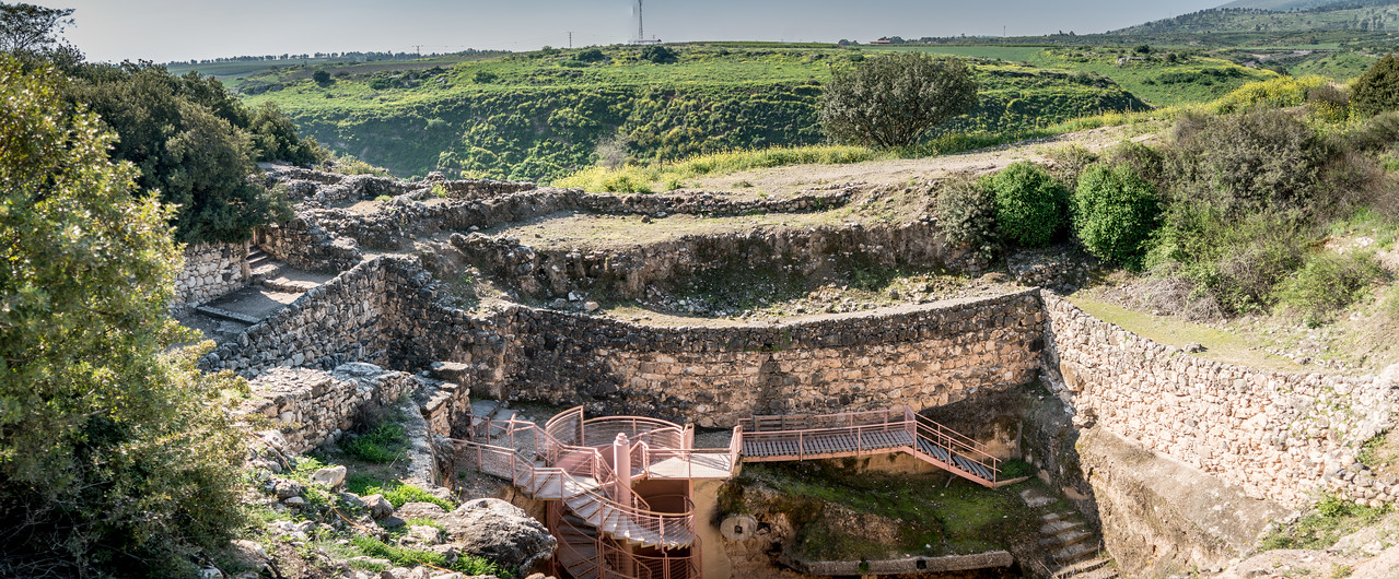 The Biblical Tels – Megiddo, Hazor, Beer Sheba