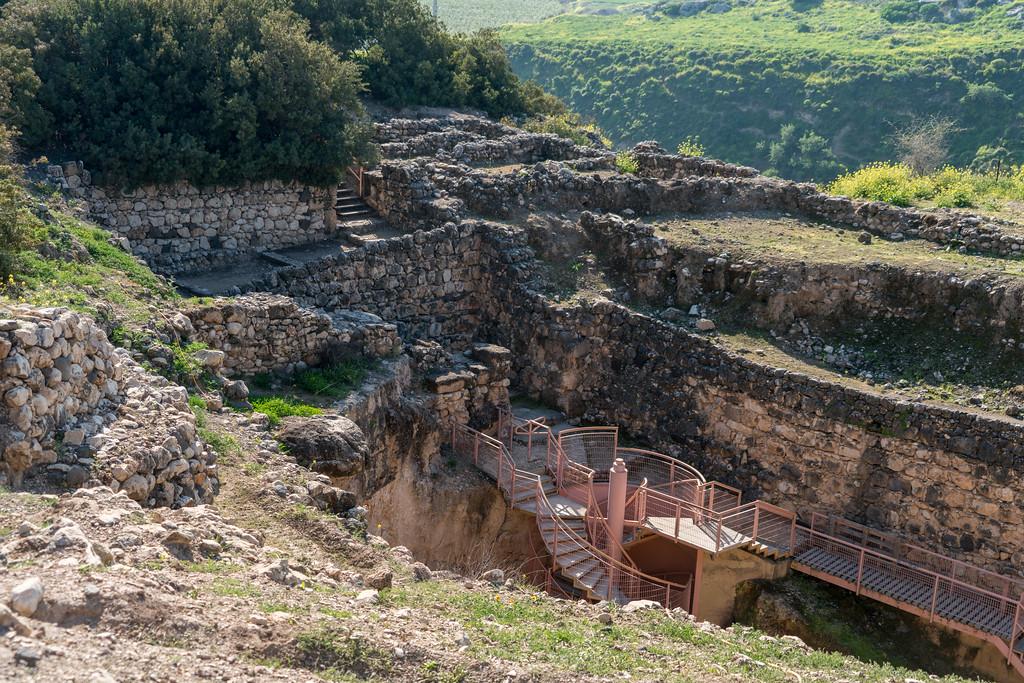 Biblical Tells in Israel - Tel Hazor