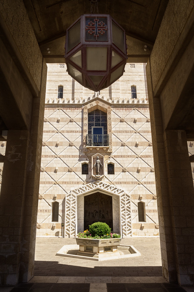 Basilica of the Annunciation Side Entrance