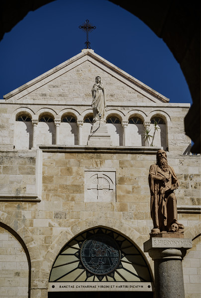 Bethlehem Church of the Nativity Courtyard